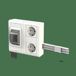 acessorio caiza izi para aparelhagem calha
